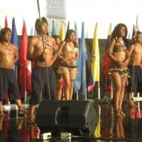 Presentating tourism in Ecuador