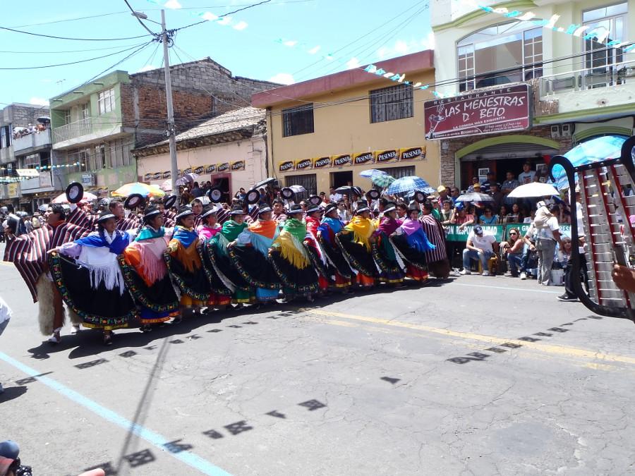 """Latacunga and the celebration of """"Mama Negra"""""""