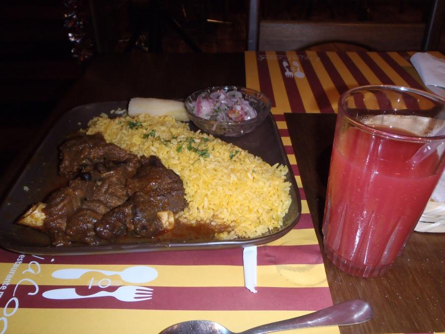 God mat fra Ecuador