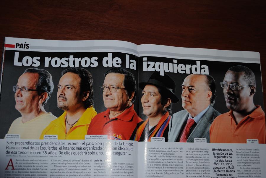 Alberto Acosta og venstrealliansen