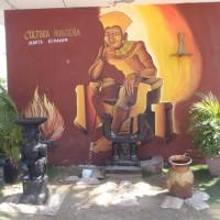 Strandliv og tidsfordriv i Manta
