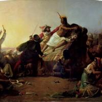 Pizarro og hans conquistadorer