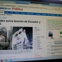 Edward Snowden kommer kanskje til Ecuador
