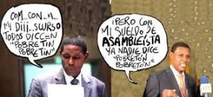 Karikatur av Agustin Delgado