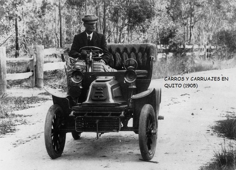 Den første bilen i Quito