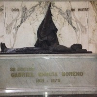 Gabriel Garcia Moreno – hans liv